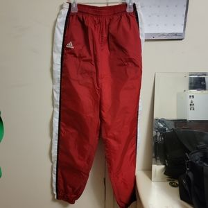 Adidas | windbreaker material pants. Euc